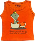 Tantra Vest For Baby Boys Cotton (Orange...
