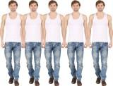 Silvio Men's Vest (Pack of 5)