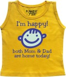 Tantra Vest For Baby Boys Cotton (Yellow...