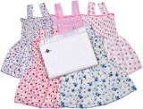 Sathiyas Vest For Baby Girls Cotton (Mul...