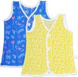 Knotty Kids Vest For Baby Boys Cotton (D...
