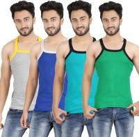 Mr.Fake Mens Vest(Pack of 4)