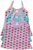 NammaBaby Vest For Girls Cotton (Multico...