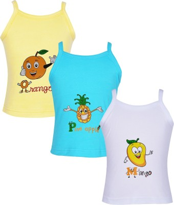 Gkidz Vest For Baby Girls(Multicolor, Sleeveless)