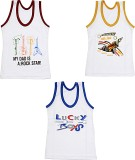 Ooh Vest For Boys Cotton (Multicolor)