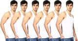 Green Koton Men's Vest (Pack of 6)