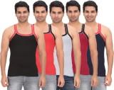 Garudaa Garments Men's Vest (Pack of 5)