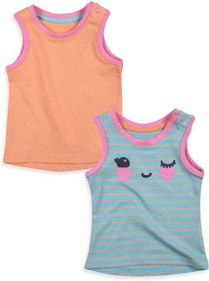 Mothercare Vest For Baby Girls(Blue, Sleeveless)
