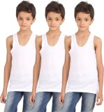 Spictex Vest For Boys Cotton (White)