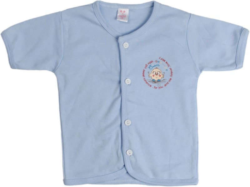 Kandy Floss Vest For Baby Boys Cotton(Light Blue, Pack of 1)
