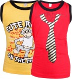 Gkidz Vest For Boys Cotton (Red)
