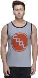 Rigo Solid Men's Scoop Neck Grey T-Shirt