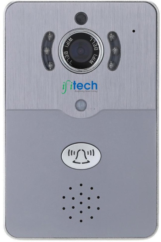 IFITech IFI-DBV01P-433MHz Video Door Phone(Wireless Single Way)