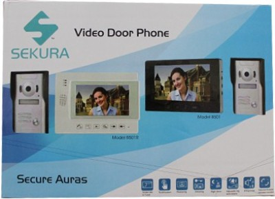 Sekura 8501R ( With SD Card Slot) Video Door Phone