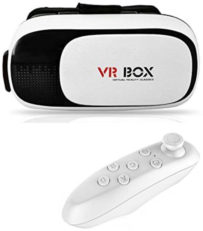 HBNS VR BOX 3D Glasses With VR Remote Controller(Smart Glasses)