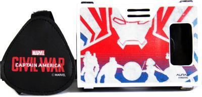 AuraVR Official Marvel Civil War Iron Man Team Virtual Reality Viewer Headset Video Glasses