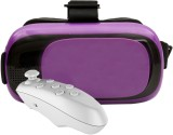 VR 12 Purple with White Remote Video Gla...