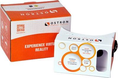 ostron electronics 3d cardboard for virtual reality with NFC TAG Video Glasses