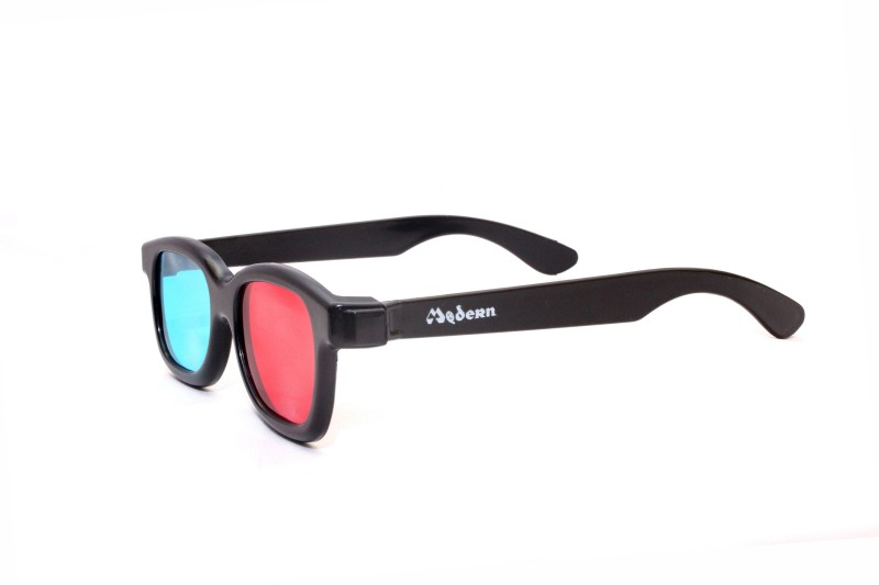 Modern Group Anaglyph Red Cyan 3D Glasses - A70 Video Glasses(Red Cyan)