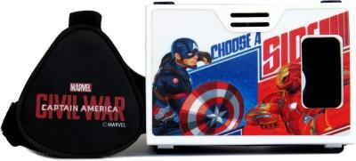 AuraVR Official Marvel Civil War Battle for faith Virtual Reality Viewer (VR Headset) Video Glasses