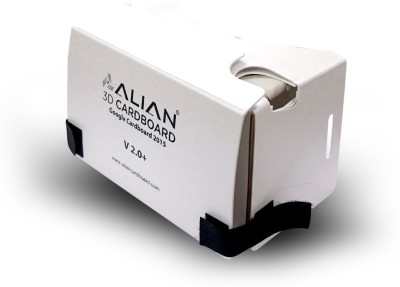 Alian White High Quality Cardboard Support Larger Phones With Screens Up To 6 Inches