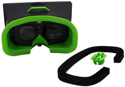 Speed 3d Virtual Reality VR Wearable Headset Mountable Sturdy Handsfree Goole Box - For All Mobile Phones(Smart Glasses)