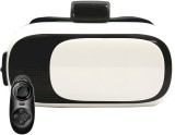 VR 12 White with Black Remote Video Glas...