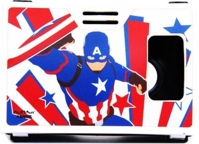 AuraVR Official Marvel Civil War (Captain America) sky shielder Virtual Reality Viewer ( VR Headset) Video Glasses