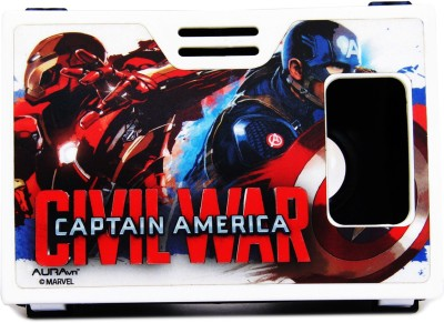 AuravR Official Marvel Civil War (Captain America/Iron man), faith defenders Virtual Reality Viewer Headset (VR Headset) Video Glasses