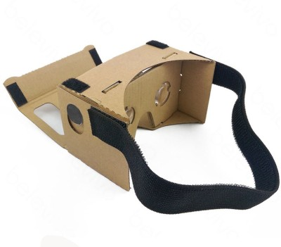 NGConnext CVR-47 Cardboard Viewer Virtual Reality Glasses with Headstrap Video Glasses