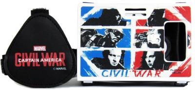AuraVR Official Marvel Civil War Team Cap Vs Team Iron Man Virtual Reality Viewer (VR Headset) Video Glasses