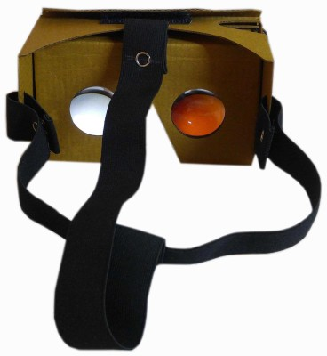 Rebel Fully Assembled Cardboard VR BOX - 3D Virtual Reality Google V-2 With NFC NTAG 213 Video Glasses