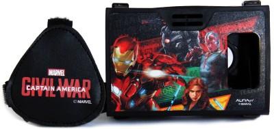 AuraVR Official Marvel Civil War Team Iron Man Virtual Reality Viewer (VR Headset) Video Glasses