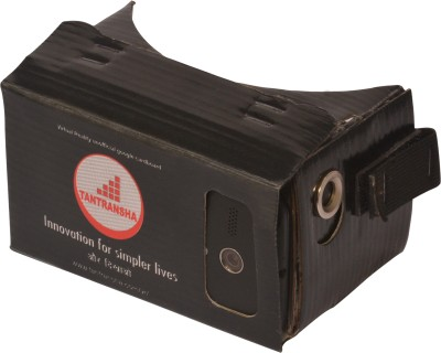 Tantransha Virtual Reality Cardboard Viewer Fully Assembled Inspired By Google Cardboard (v1) Video Glasses