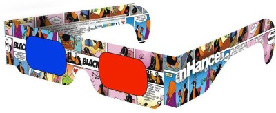 DOMO nHance RB2B Paper Anaglyph 3D Video Glasses - Pack of 4 Video Glasses