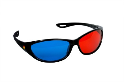 SMR 3D REAL- Red and Blue Lens Video Glasses