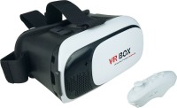 IMAGE VR Box 2.0 with Bluetooth Controller 3D Video Glasses 6 inch Blu-ray Player(White)