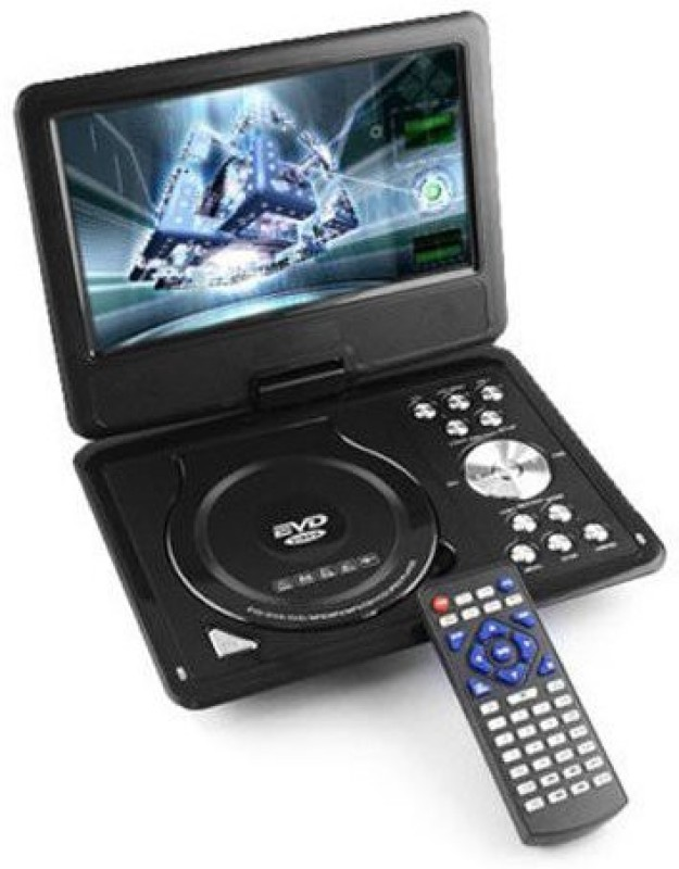 Shrih Portable 7.8 inch DVD Player(Black)