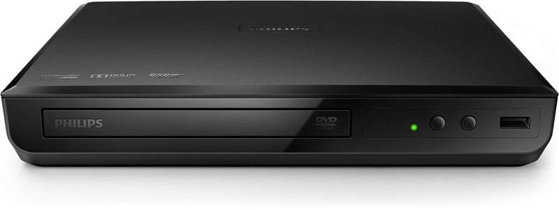 Philips DVP2618/94 0 inch DVD Player(Black)