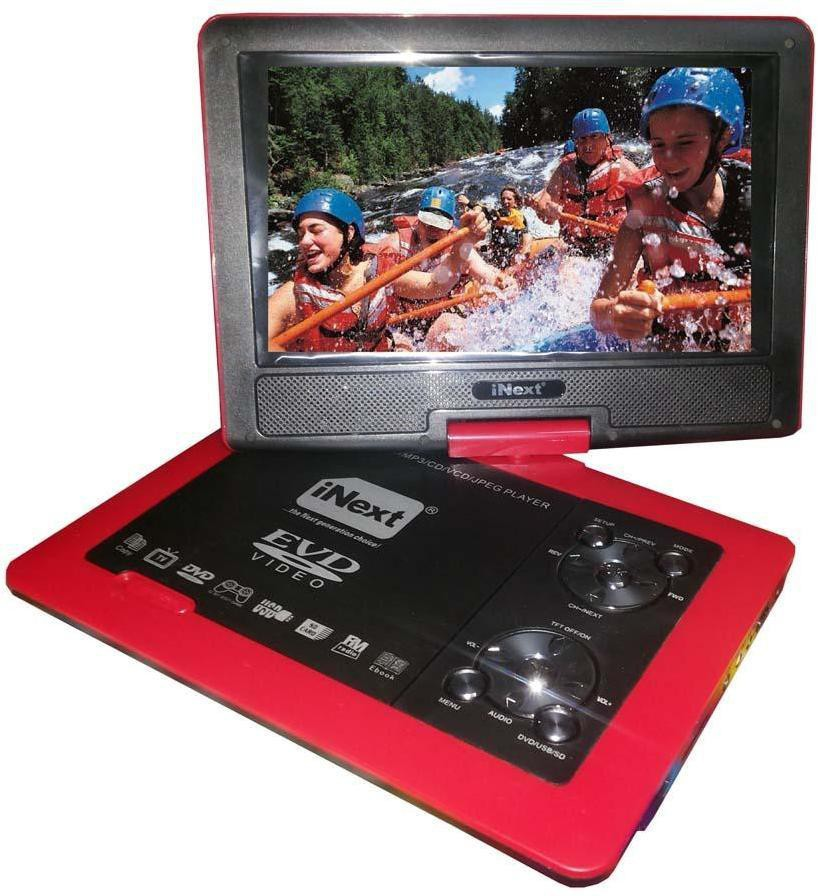 Inext Int991 9.8 inch DVD Player(Black)