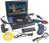 Portable 9.8 inch EVD/DVD Video Player With 3D 9.8 inch DVD Player(Black)