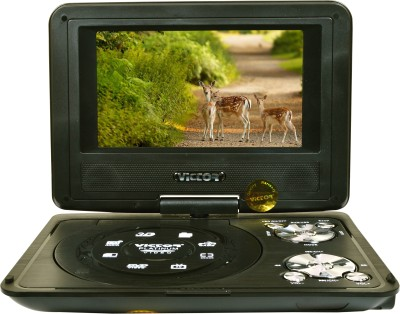 Victor Portable EVD/Video With 3D With TV Tuner Card Reader USB And Game Function 7.8 inch DVD Player