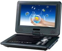 """Eye Vision 7.8"""" 3D Portable Laptop EVD/DVD/MP3 LED TV Tuner USB & Memory Card With Game Function 7.8 inch DVD Player(Black)"""