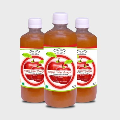 Sinew Apple Cider Vinegar 1500 ml(Pack of 3)