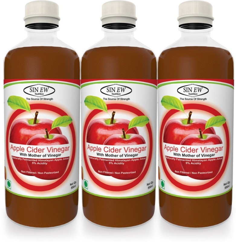 Sinew Apple Cider_3 Sports Drink(1500 ml Pack of 3)