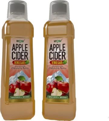 Wow Apple Vinegar 1500 ml(Pack of 2)