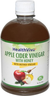 HealthViva Apple Cider with Honey Vinegar 500 ml