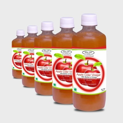 Sinew Apple Cider Vinegar 2500 ml(Pack of 5)