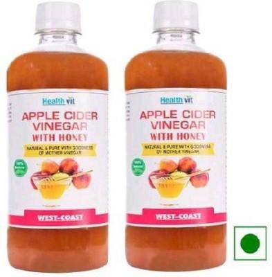 Healthvit Apple With Honey set of 2 Vinegar 500 ml