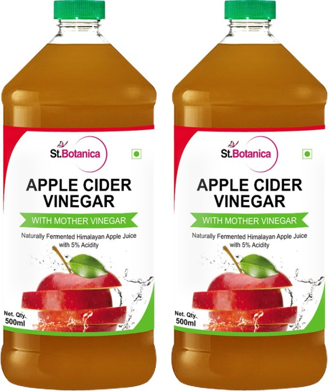 St. Botanica Apple Cider Vinegar Sports Drink(1000 ml Pack of 2)